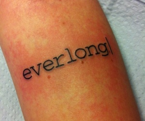 font, girl, and tattoo lover image