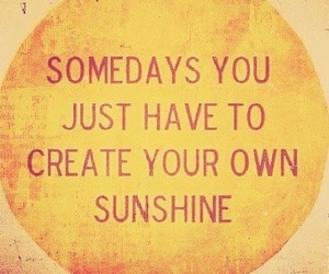 quote, someday, and sun image