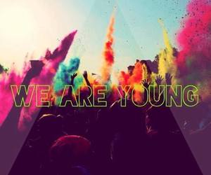 young, colors, and party image