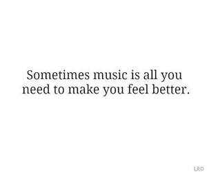 music, quote, and better image