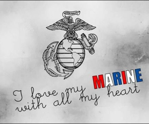 marine, USMC, and milso image