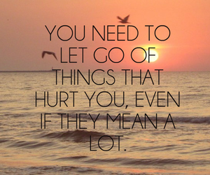 cry, hurt, and let go image