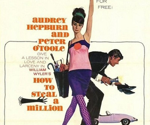 audrey hepburn and how to steal a million image