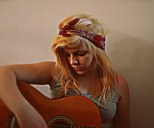 bandana, guitar, and tanja annina image