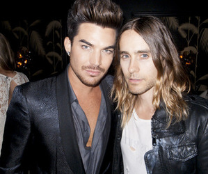jared leto and adam lambert image
