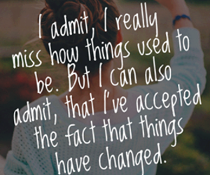quotes, change, and miss image