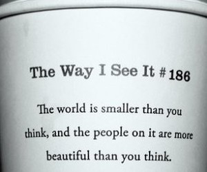 quote, starbucks, and the way i see it image