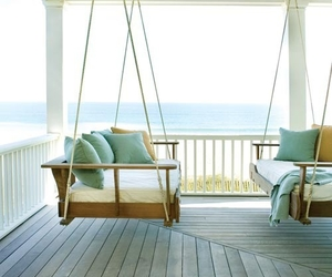 beach, home, and porch image