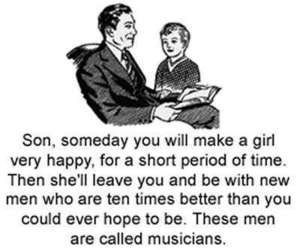 musician, funny, and son image