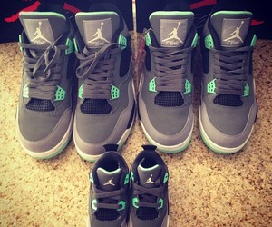 shoes, jordan, and family image