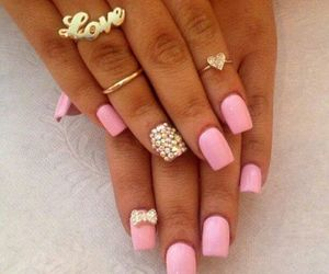 bow, ideas, and nails image