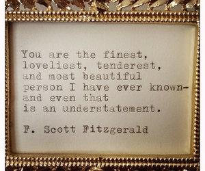 quote, f. scott fitzgerald, and fitzgerald image