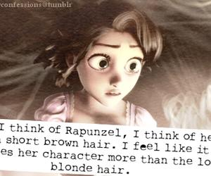 beautiful, rapunzel, and short hair image