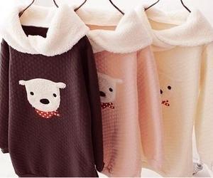 cute, kawaii, and bear image