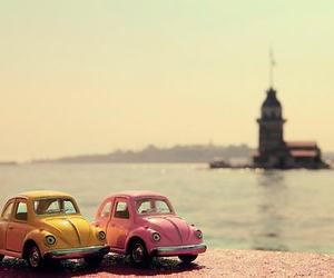 car, istanbul, and pink image