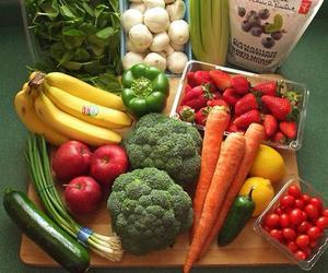 food, fruit, and vegetables image