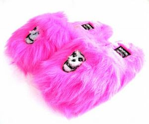 fluffy, slippers, and pantufas image