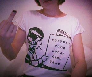 fashion, feminist, and girlpower image