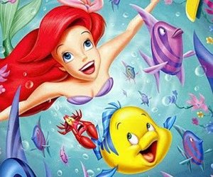 flounder and ariel image
