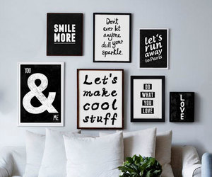 black, quote, and white image