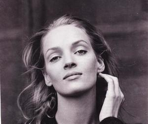 black and white, quotes, and uma thurman image