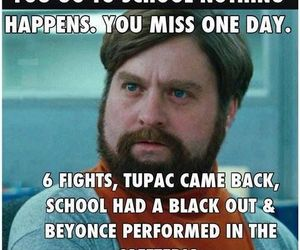 school, funny, and beyoncé image