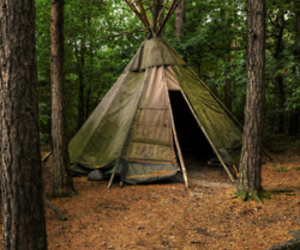 tent and teepee image