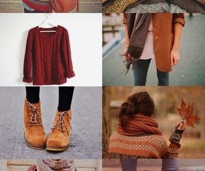autumn, brown., and fall image