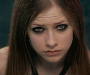 Avril Lavigne and complicated image