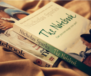 the notebook, book, and nicholas sparks image