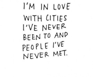 quotes, love, and city image