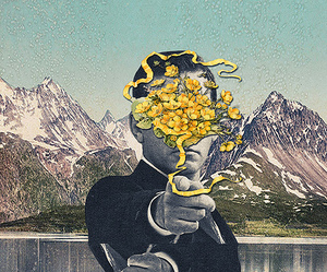 art, bipolar, and Collage image