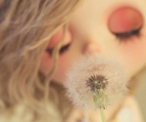 blythe, flower, and happy image
