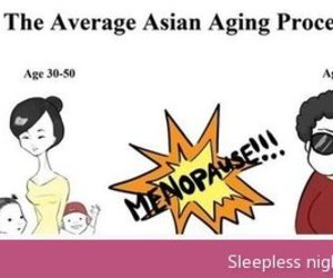 funny, asian, and aging image