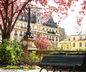 pretty, spring, and travel image