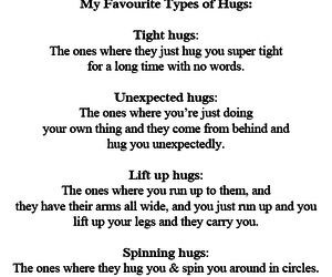 ???, hugs, and quotes image