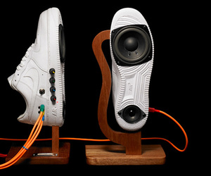 sneakers and speakers image