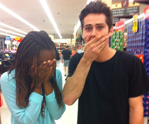 teen wolf, dylan o'brien, and fan image