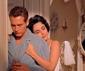 paul newman, Cat on a Hot Tin Roof, and Elizabeth Taylor image