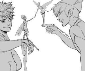 jack frost, peter pan, and disney image