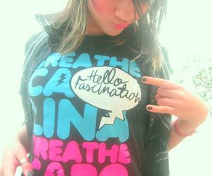 breathe carolina, girl, and hair image