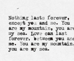 mountains, biffy clyro, and Lyrics image
