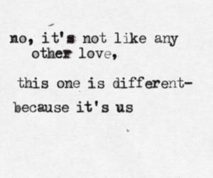 love, different, and us image