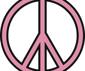 peace and pink image