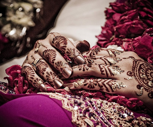 art, henna, and cool image