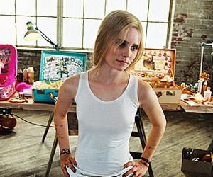 alison lohman, art, and paint image
