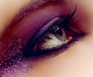 beautiful, sparkle, and eye shadow image