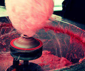 pink, sweet, and cotton candy image