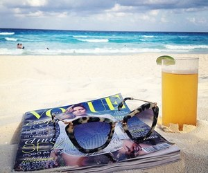 beach, summer, and vogue image