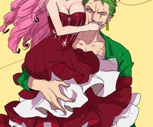 zoro, perona, and one piece image